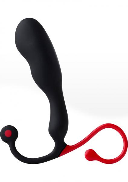 Helix Syn Silicone Synergy Male G-Spot Stimulator Black/Red