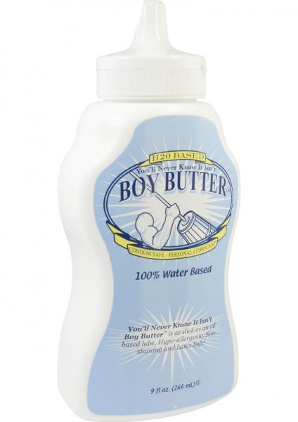 Boy Butter Water Based Lubricant 9 Ounce
