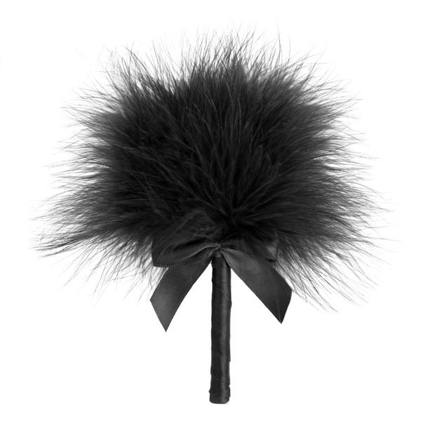 Tickle Me Tickler Black Feathers