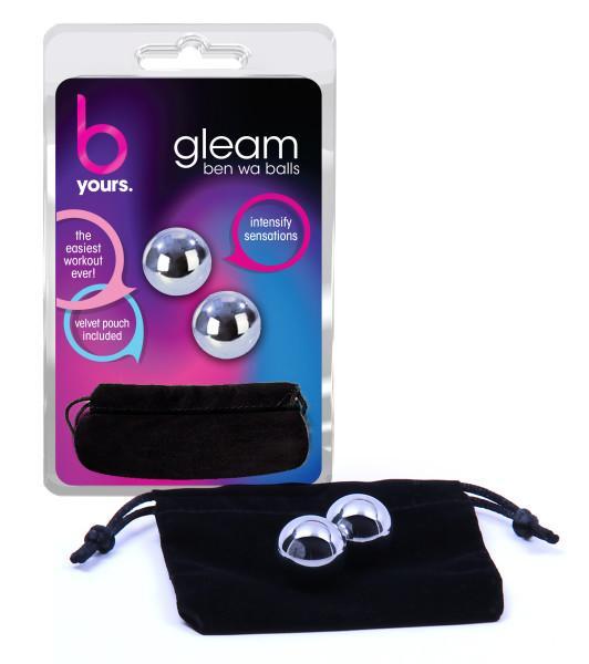 Gleam Ben Wa Balls Silver