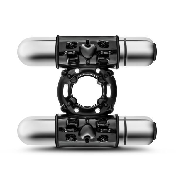 Performance 10 Function Double Mega Bull Ring Black