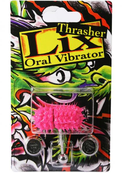 Lix Thrasher Oral Vibrator Glow In The Dark Pink