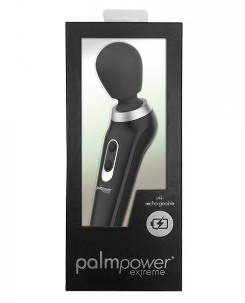 Palm Power Extreme Body Massager Black