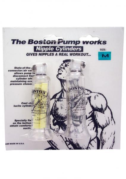 The Boston Pump Works Nipple Cylinders Medium