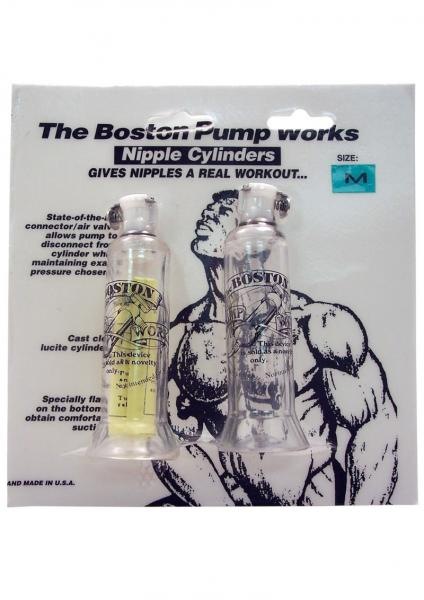 The Boston Pump Works Nipple Cylinders Medium