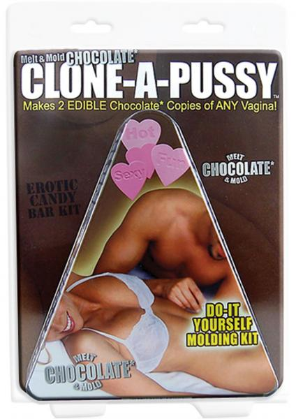 Clone A Pussy Kit Edible Do It Yourself Pussy Mold Chocolate