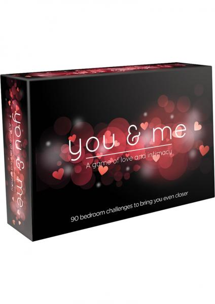 You & Me Couples Card Game