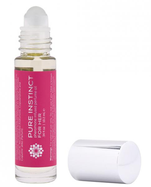 Pure Instinct Perfume Oil For Her Roll On For Her .34 ounce