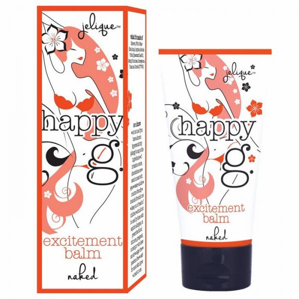 Happy G Excitement Balm Naked Fragrance Free .5oz
