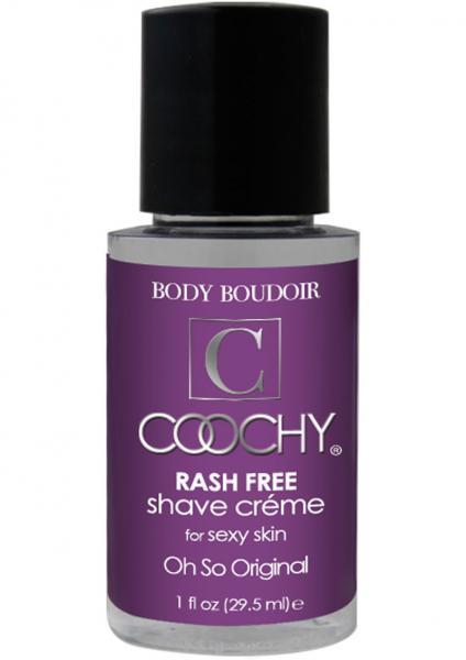 Body Boudoir Coochy Rash Free Shave Creme Original 1 Ounce