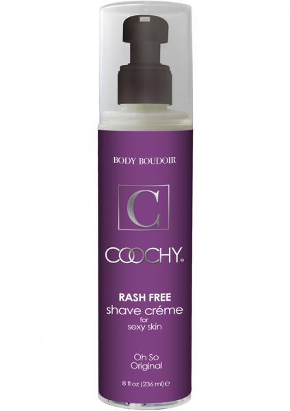 Body Boudoir Coochy Rash Free Shave Creme Original 8 Ounce
