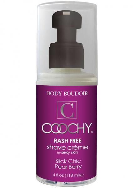 Coochy Rash Free Shave Creme Pear Berry 4oz