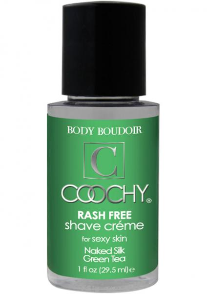 Body Boudoir Coochy Rash Free Shave Creme Green Tea 1 Ounce