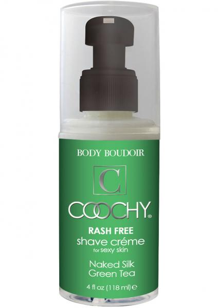 Body Boudoir Coochy Rash Free Shave Creme Green Tea 4 Ounce
