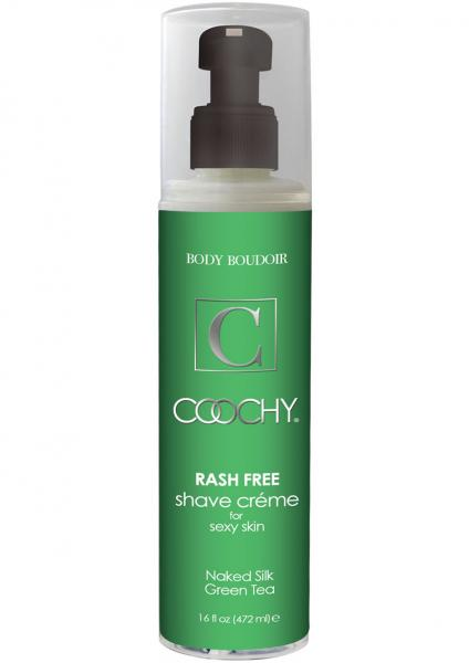Body Boudoir Coochy Rash Free Shave Creme Green Tea 16 Ounce
