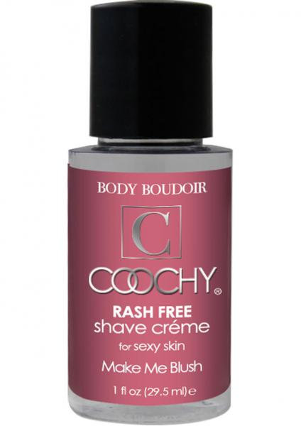 Body Boudoir Coochy Rash Free Shave Creme Make Me Blush 1 Ounce