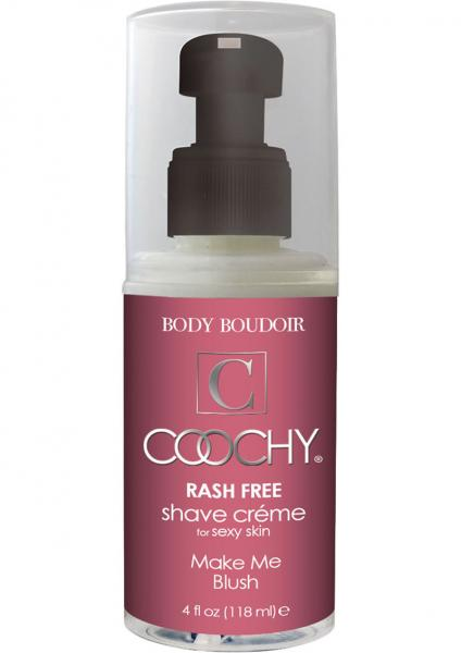Body Boudoir Coochy Rash Free Shave Creme Make Me Blush 4 Ounce