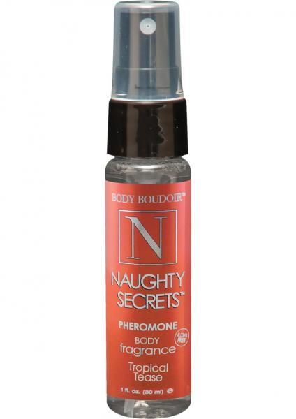Naughty Secrets Pheromone Body Mist Tropical Tease 1oz