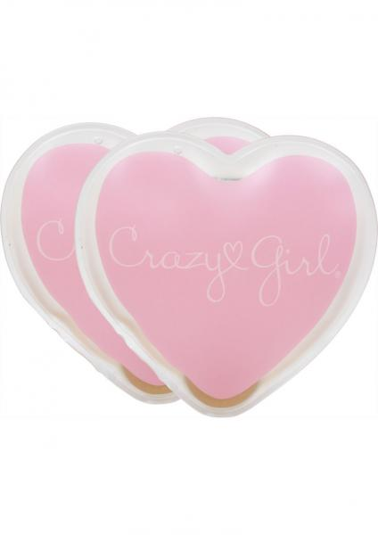 Crazy Girl Wanna Be Pampered Mini Hearts Warming Body Massagers 2 Each