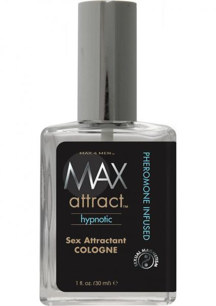 Max 4 Men Attract Hypnotic Sex Attractant Cologne Phermone Infused 1 Ounce Bulk