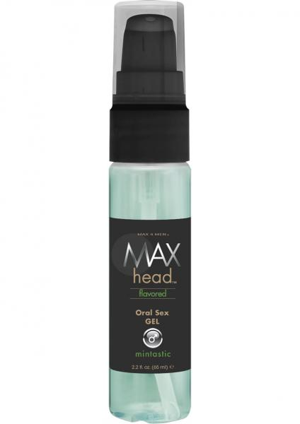 Max Head  Mint Flavored Oral Sex Gel  2.2 oz