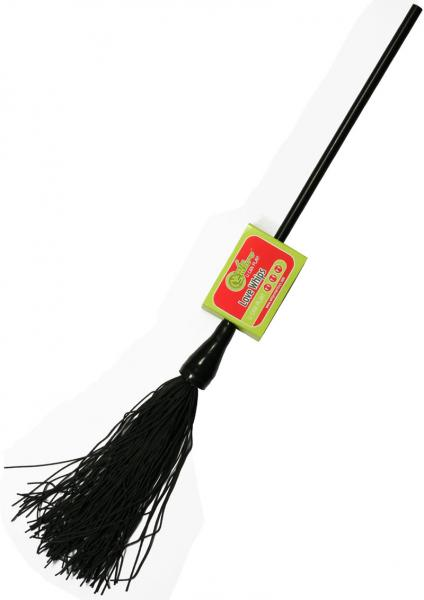 Whip Smart Duster Whip 12 Inch Mystic Black