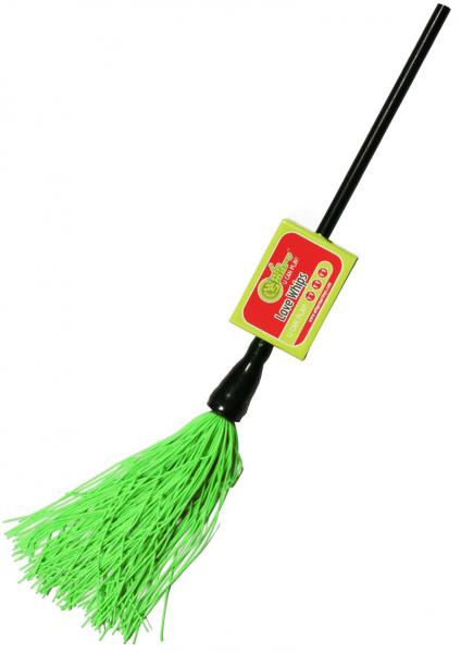 Whip Smart Duster Whip 12 Inch Hot Green