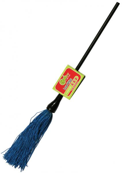 Whip Smart Duster Whip 12 Inch Passion Blue