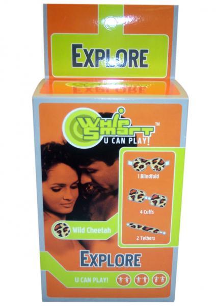 Whip Smart Explore Bondage Kit Cheetah