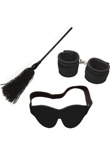 Whip Smart Engage Bondage Kit Mystic Black