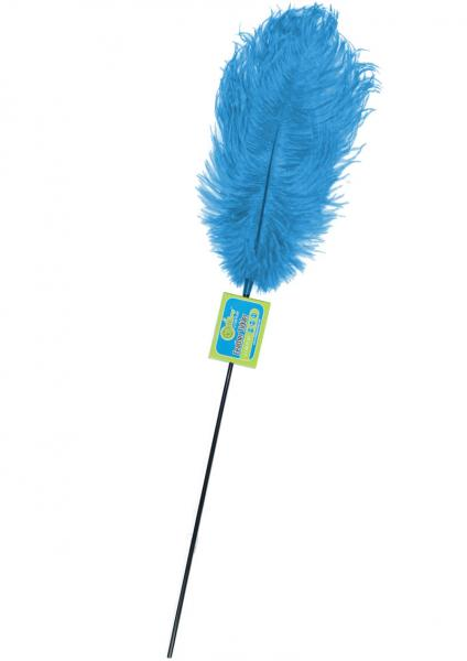 Whip Smart Feather Tickler Lusty Turquoise