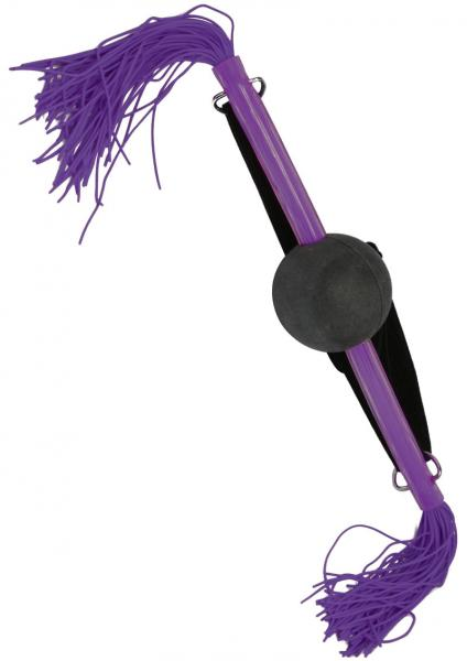 Whip Smart Ball Gag Exotic Purple