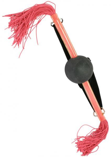 Whip Smart Ball Gag Kinky Pink