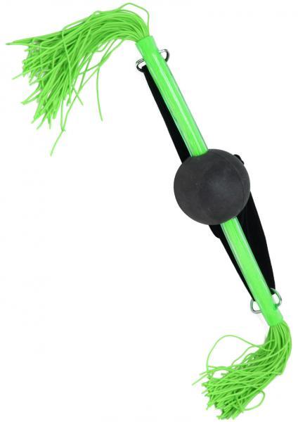 Whip Smart Ball Gag Hot Green