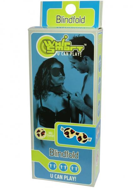 Whip Smart Blindfold Wild Cheetah