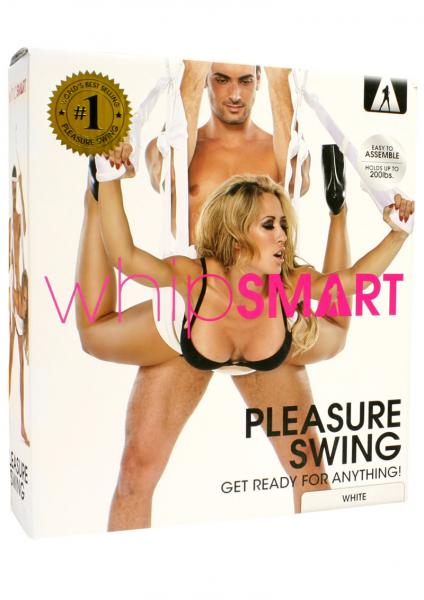 Whip Smart Pleasure Swing - White