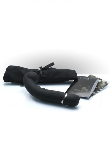 Ophoria Beyond 1 G Spot Silicone Vibrator 7.5 Inch Noir