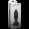 Platinum Touch Vibrating Butt Plug Black