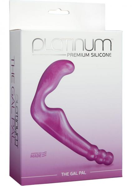 Platinum Premium Silicone The Gal Pal Strapless Purple