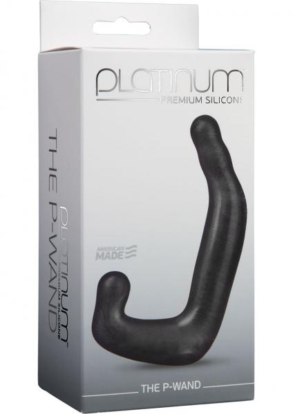 Platinum Premium Silicone The P-Wand Black