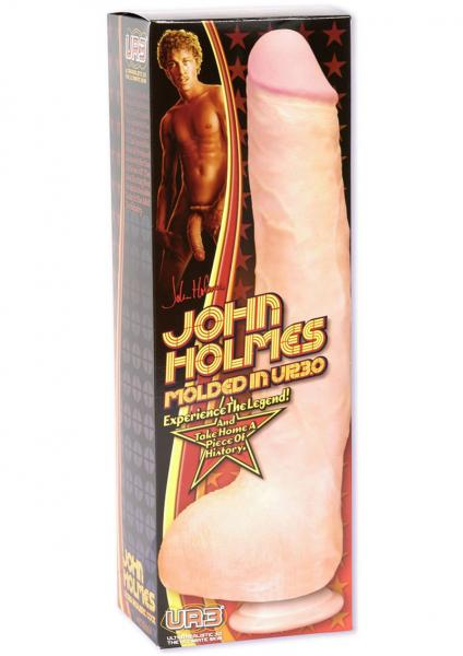 John Holmes Realistic C*ck 12 Inch - Beige