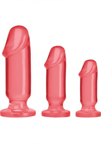 Crystal Jellies Anal Starter Kit - Pink