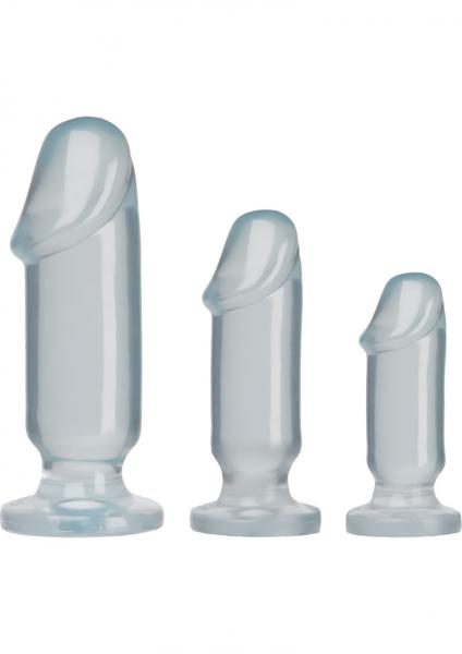 Crystal Jellies Anal Starter Kit Clear
