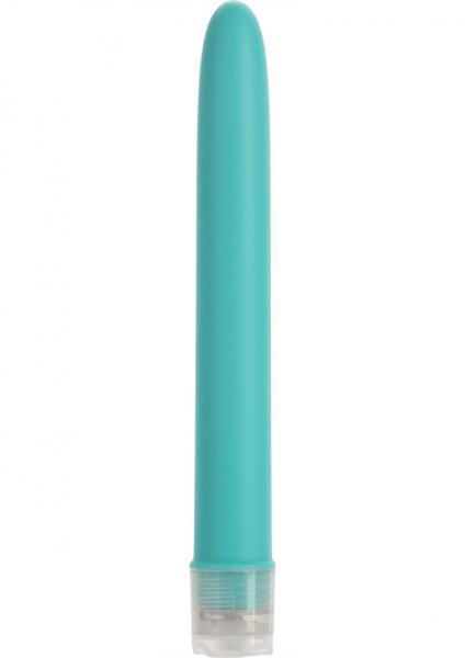 Velvet Touch Vibes Slim Teal Blue Vibrator