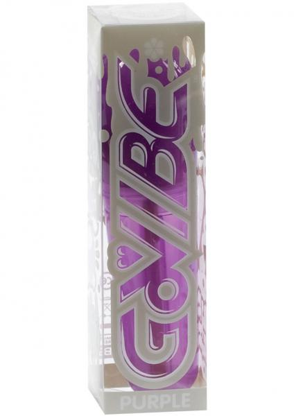 Go Vibe Mini Vibrator Waterproof 4 Inch Purple