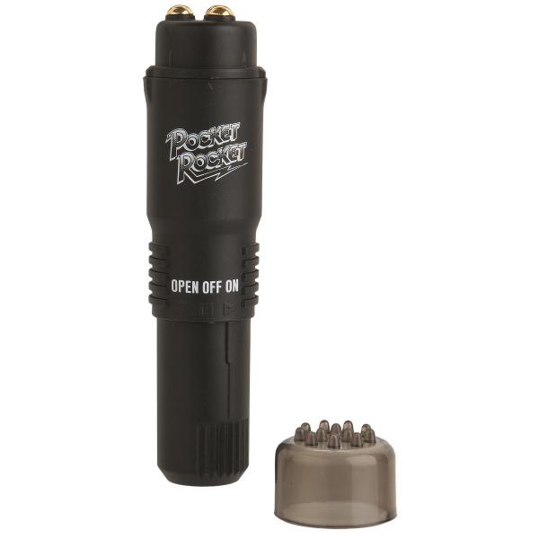 Pocket Rocket Limited Edition Black Massager