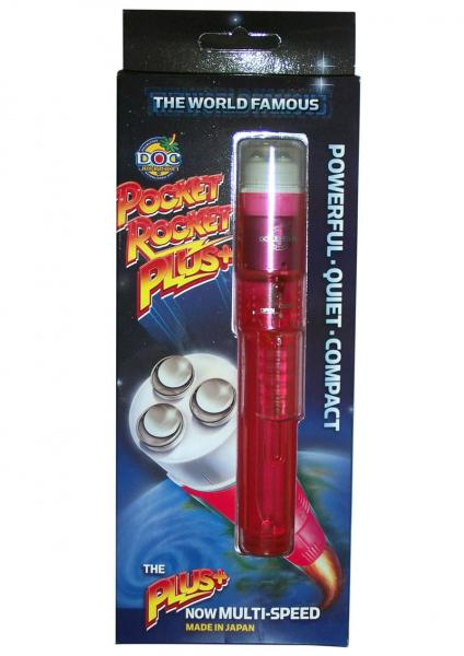 Pocket Rocket Plus Red Massager