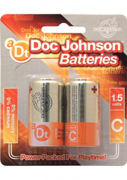 Doc Johnson Batteries C 2 Pack