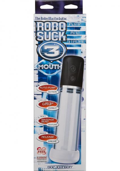Robo Suck 3 UR3 Mouth Donut Pump 8.3 Inch