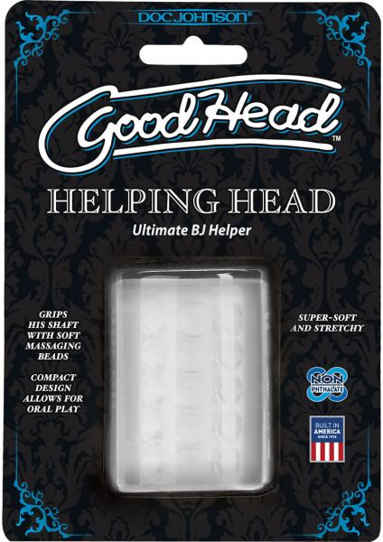 "Helping Head Ultimate 2"" Mini Stroker - Clear"